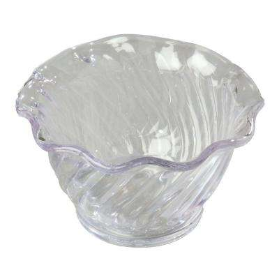 5 oz. Polycarbonate Tulip and Berry Dish in Clear (Case of 24)