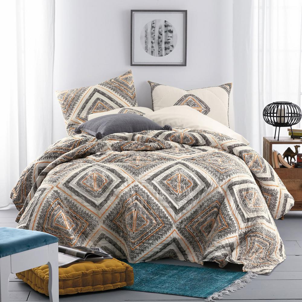 Tiles Cotton Quilt