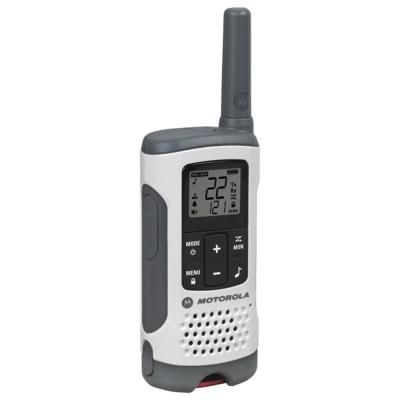 Motorola Talkabout T200 Gray Two-way Radios 20 Mile Rechargeable 2 Pack MOT-T200