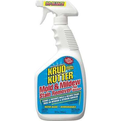 32 oz. Mold and Mildew Stain Remover Plus Blocker