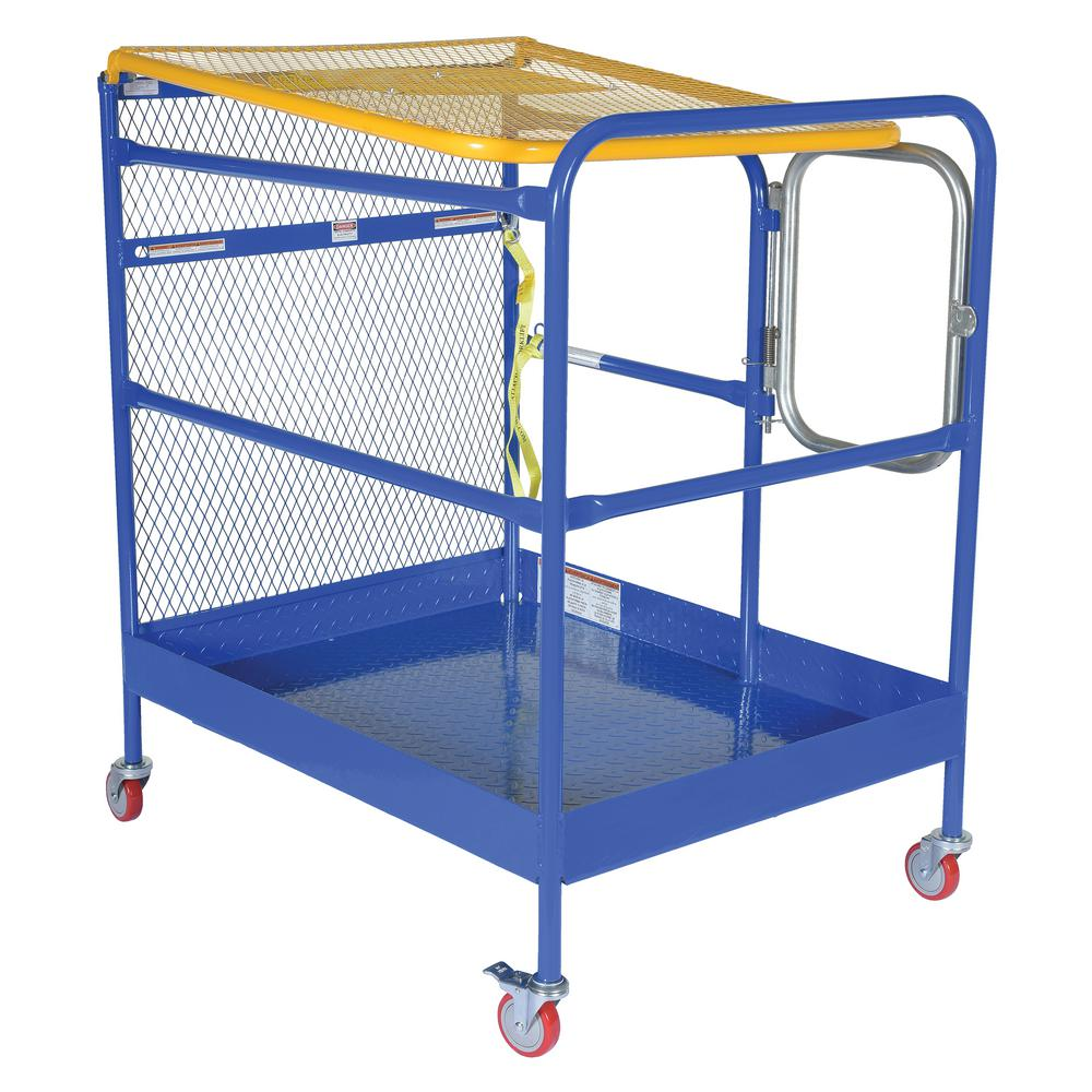 36 in. x 48 in. Steel Work Platform with Casters