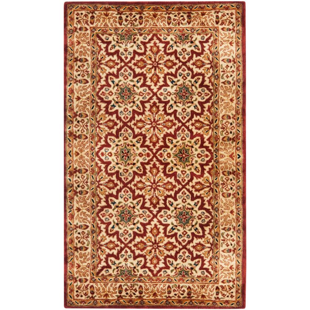 Safavieh Pl537a Persian Legend Wool Hand Tufted Rust Navy: Safavieh Vintage Persian Turquoise/Multi 3 Ft. X 5 Ft