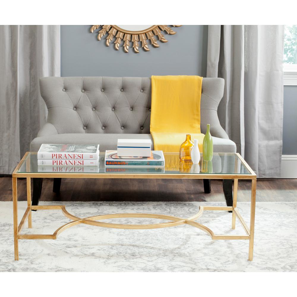 Inga Gold Coffee Table