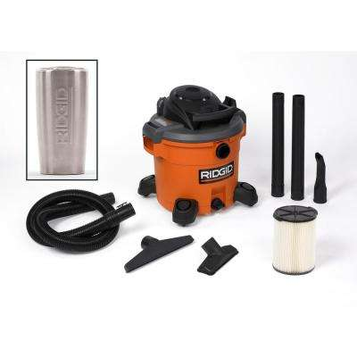 12 Gal. 5.0-Peak HP Wet/Dry Vac with Tumbler