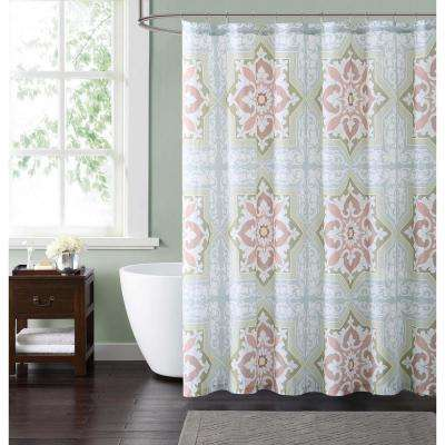 Sheffield Green 72 in. Multiple Shower Curtain