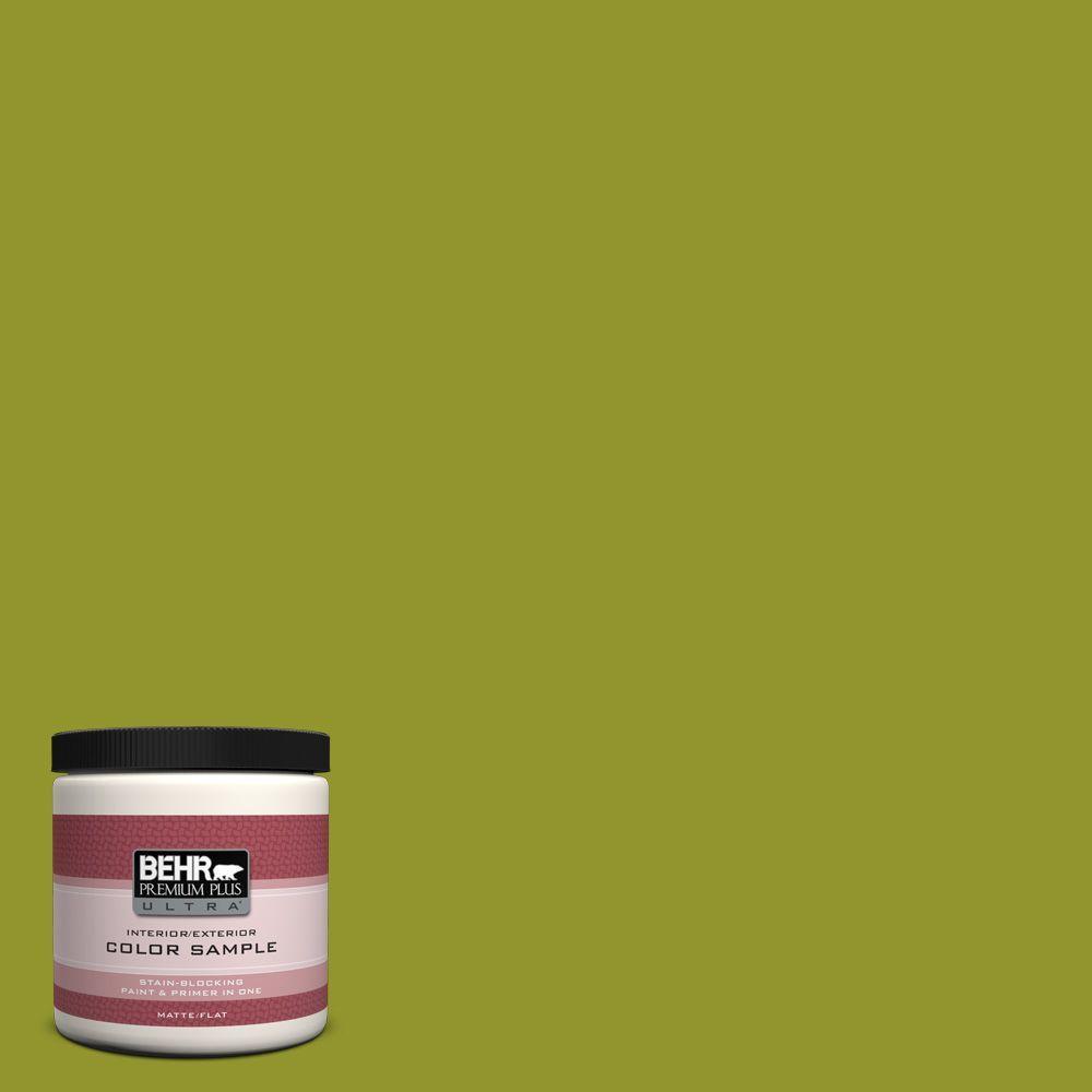 BEHR Premium Plus Ultra 8 oz. #P350-7 Lazy Lizard Interior/Exterior Paint Sample