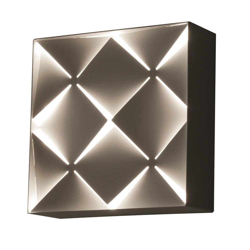 Afx Commons 13 Watt White Integrated Led Bath Light