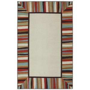 Mohawk Home Patio Border 5 ft. x 8 ft. Outdoor Printed Patio Area Rug by Mohawk Home