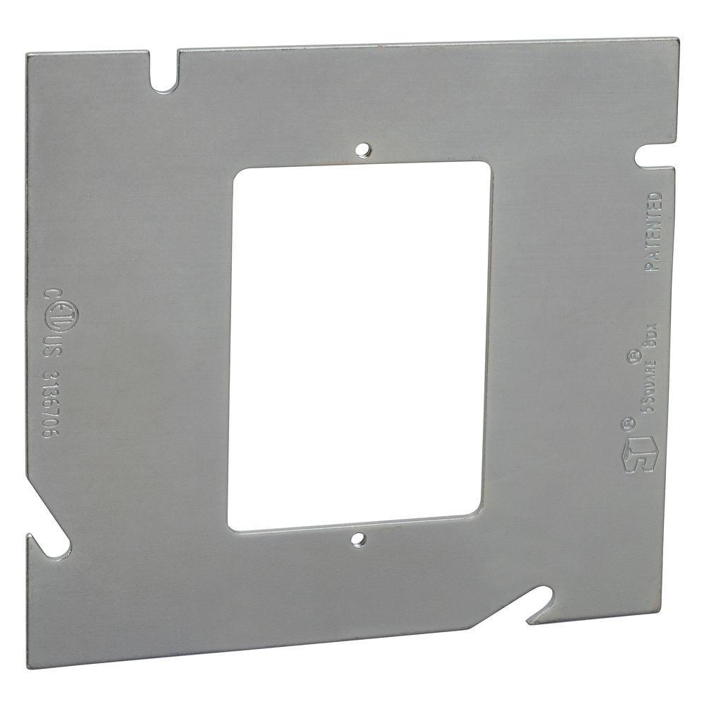 5-Square Single Gang Ring Flat (20 per Case)