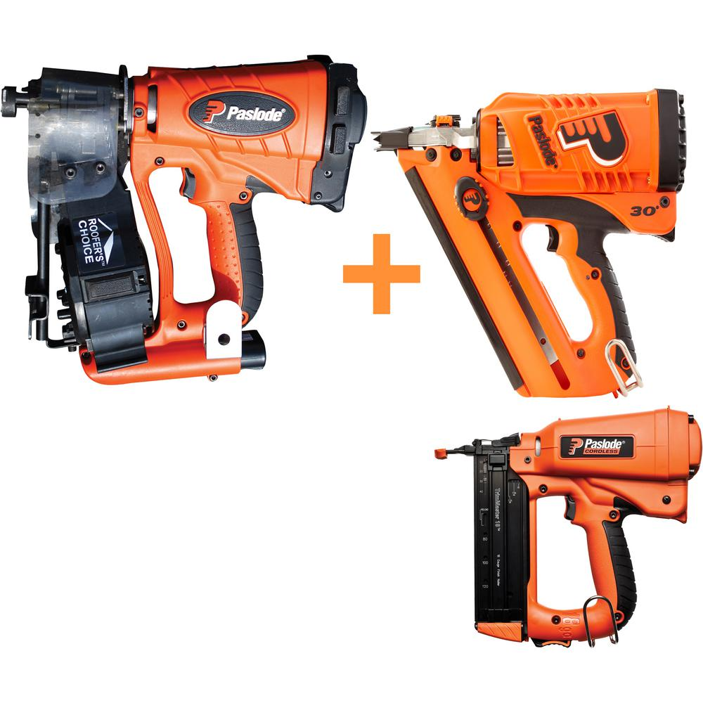 Paslode Compact Framing Nailer: Paslode 18-Gauge Cordless Framing Brad Finishing And