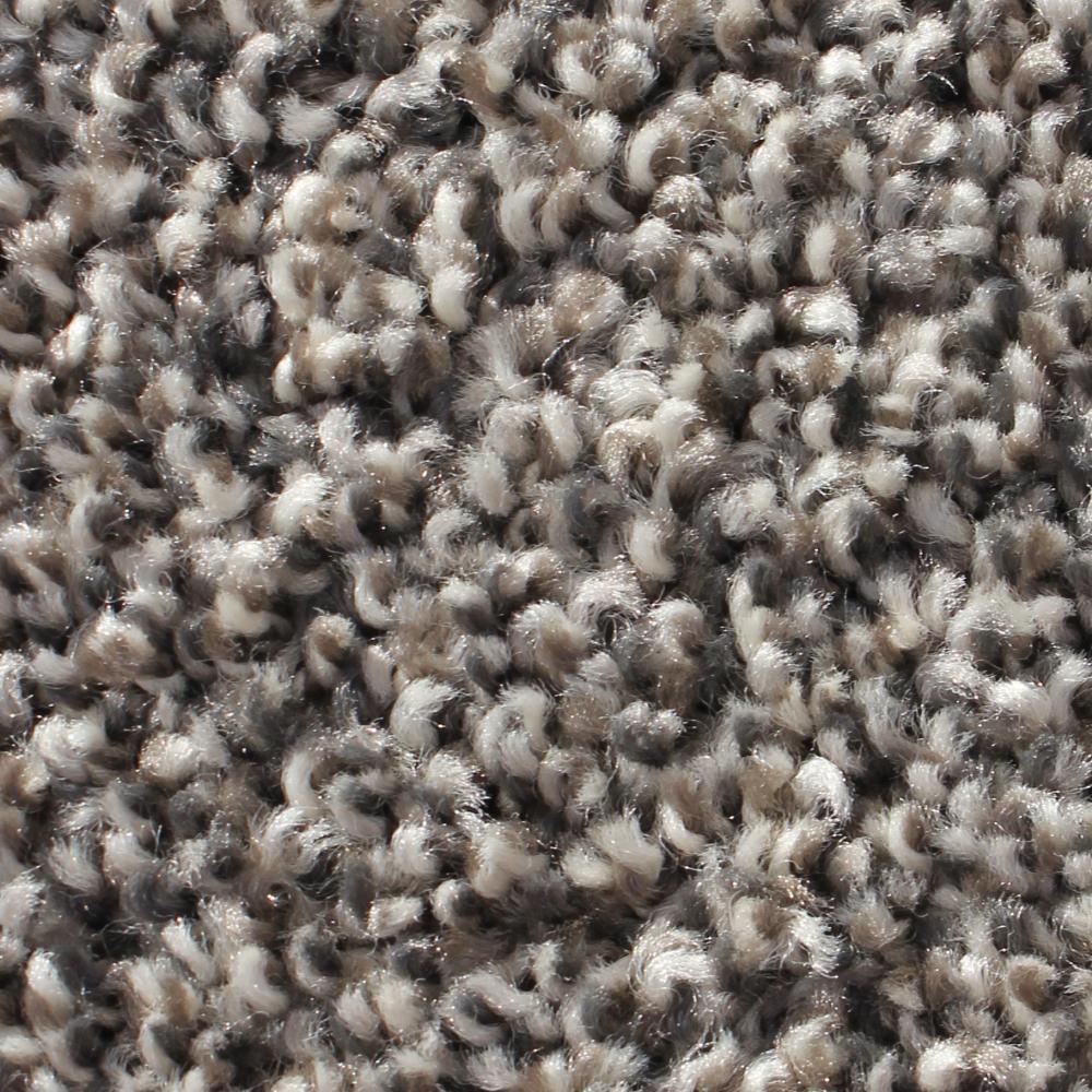 Modern Design Steel Texture 24 in. x 24 in. Residential Carpet Tile (12 Tiles/Case)