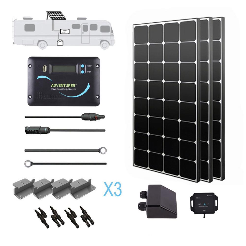 Grape Solar 400 Watt Off Grid Solar Panel Kit Gs 400 Kit
