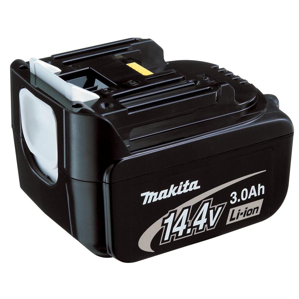 makita 14 4 volt lithium ion battery bl1430 the home depot. Black Bedroom Furniture Sets. Home Design Ideas