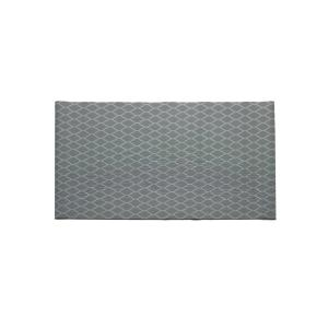 Mattisimo Chain Black 26 4 In X 79 In Indoor Outdoor Runner Rug Chainblack79 The Home Depot