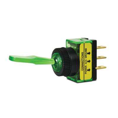 20 Amp Green Glow Toggle Switch