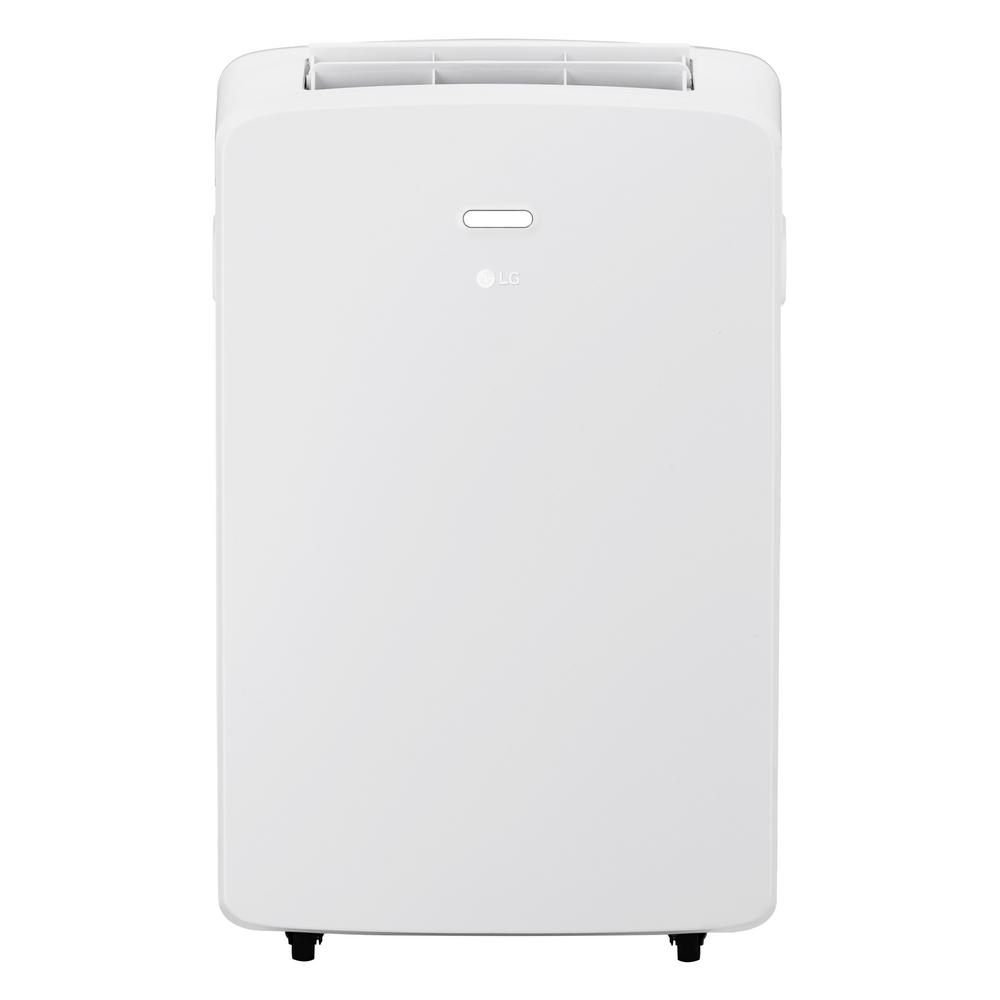 10000 BTU 6500 BTU (DOE) Portable Air Conditioner with Remote Control in White for Rooms up to 250 sq. ft.