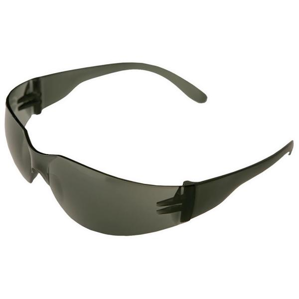 2.5 Power Iprotect Readers Bifocal Eye Protection, Clear Temple and Gray Lens