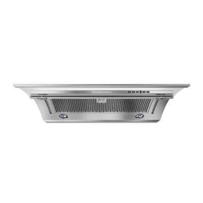30 in. Under the Cabinet Slide-Out Range Hood with LED Light in Stainless Steel