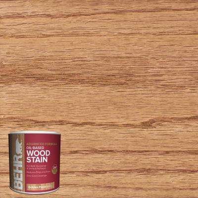8 oz. #TIS-522 Golden Pecan Transparent Oil-Based Advanced Formula Interior Wood Stain