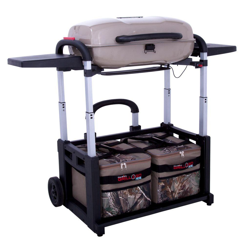 Char-Broil Grill2Go Ice Realtree Edition Portable Infrared Propane Gas Grill and Cooler Combo