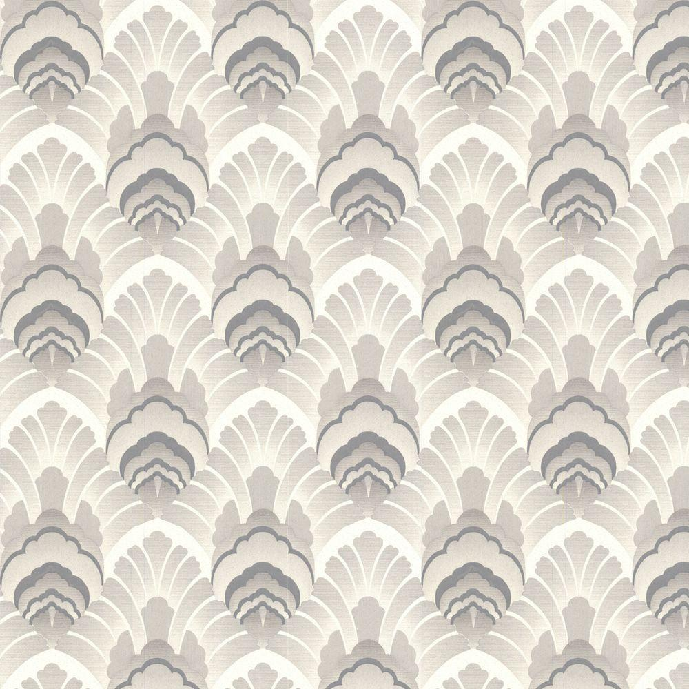 Graham & Brown 56 sq. ft. Original Taupe Wallpaper - DISCONTINUED
