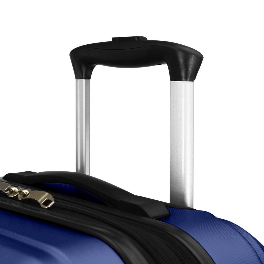 Elite Luggage - Elite Dori Expandable Carry-On Spinner Luggage, Navy
