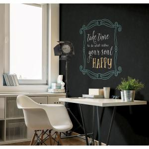 Click here to buy A-Street Indica Black Antique Chalkboard Wallpaper by A-Street.
