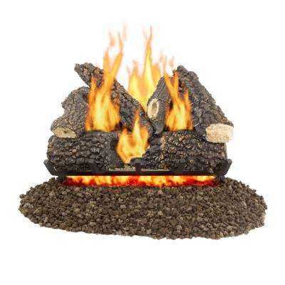 Arlington Ash 24 in. Vented Gas Log Set