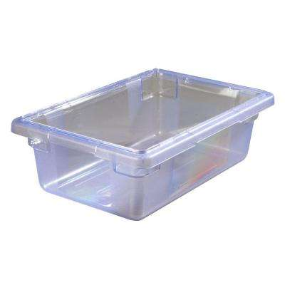 Color-Coded 3.5 gal., 12x18x6 in. Polycarbonate Food Storage Box in Blue (Case of 6)
