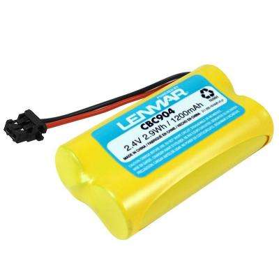 Nickel-Metal Hydride 1200mAh/2.4-Volt Cordless Phone Replacement Battery