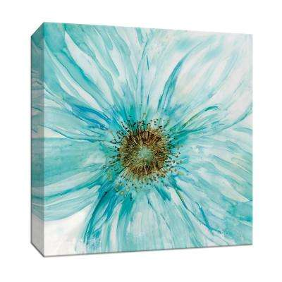 15 in. x 15 in. ''Bold Blue I'' Canvas Wall Art
