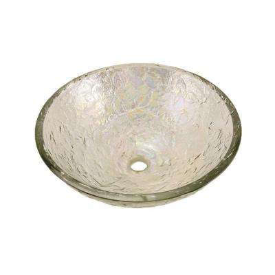 Vessel Sink in Crystal Reflections