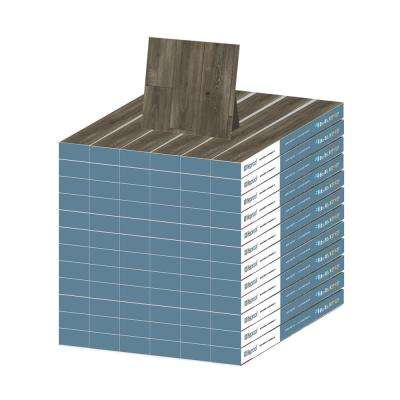 Aged Gunmetal Oak 12 mm Thick x 8.03 in. Wide x 47.64 in. Length Laminate Flooring (956.4 sq. ft. / pallet)