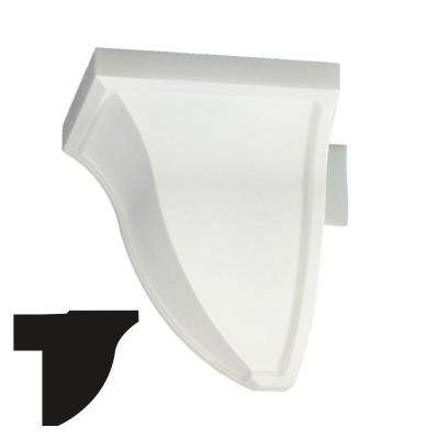 5-7/8 in. x 5-7/8 in. x 5-7/8 in. Economy Outside Plastic Corner Block Crown Moulding