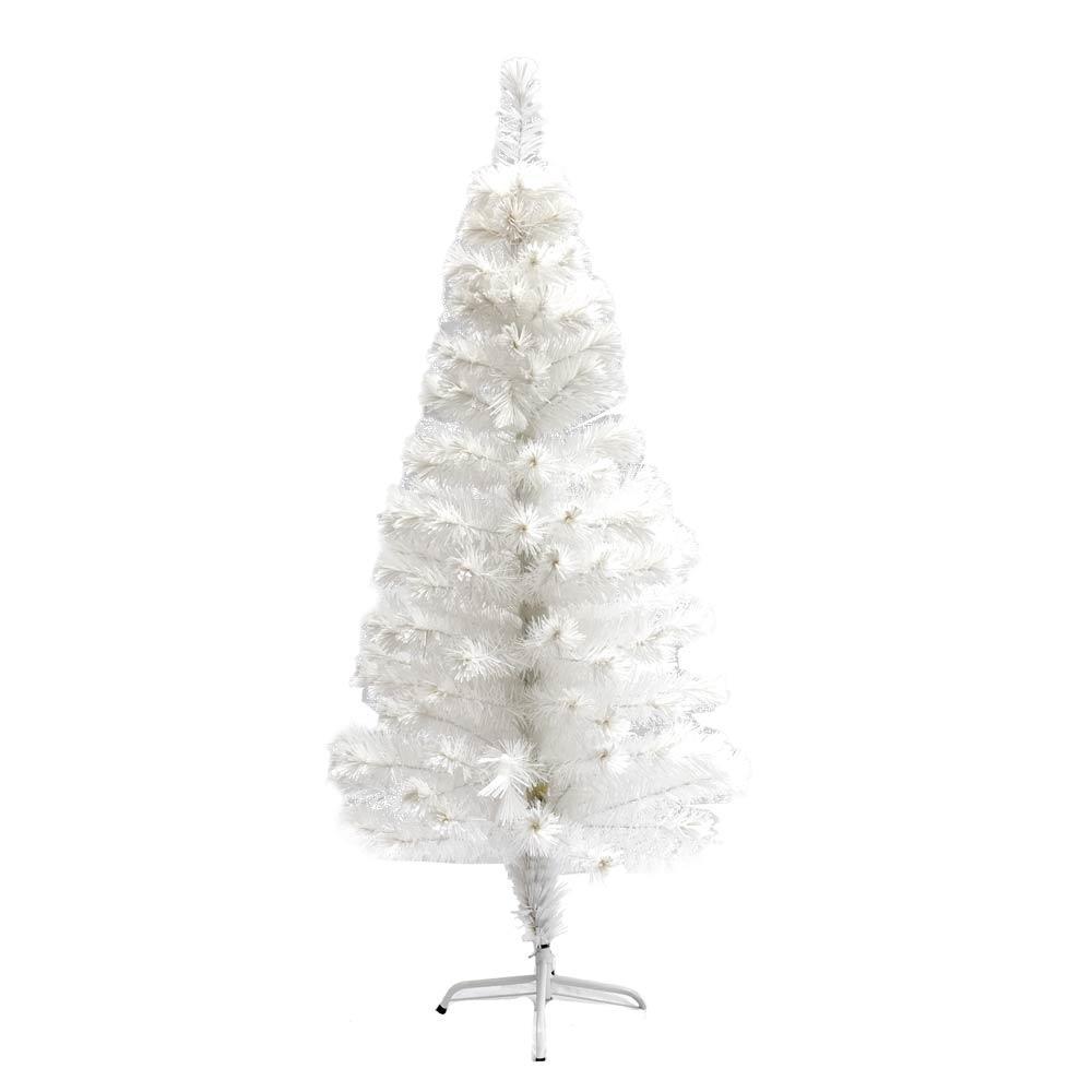 5 Ft Artificial Christmas Tree: ALEKO 5 Ft. Pre-Lit Artificial Christmas Tree With 170