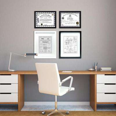Gallery 16 in. x 20 in. (11 in. x 14 in.) Black Frame