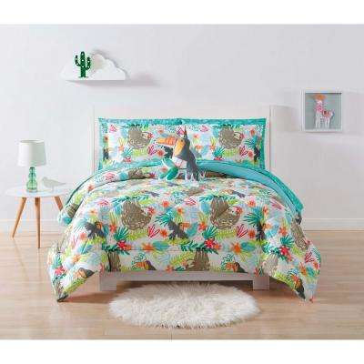 Kids Hanging Out Full/Queen Comforter Set