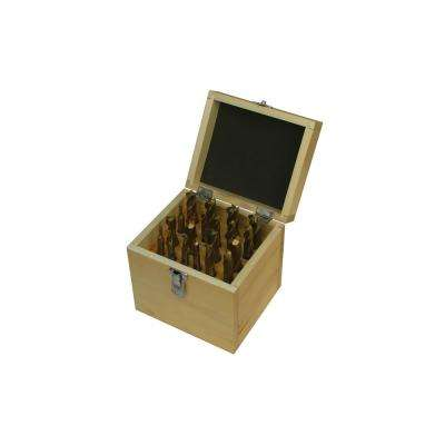 Tin Coated Double End Mill Set (20-Piece)