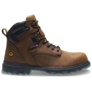 ef7f2dd73bc Wolverine Men's I-90 EPX 10.5M Brown Full-Grain Leather Waterproof  Composite-Toe 6