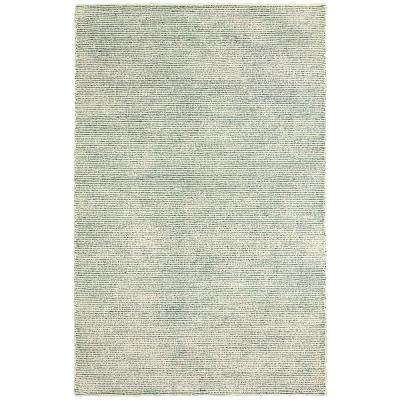 Pin Dot Blue 9 ft. x 12 ft. Indoor Area Rug