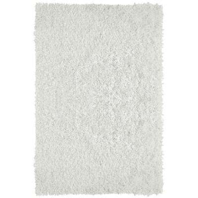 City Sheen White 6 ft. x 8 ft. Area Rug