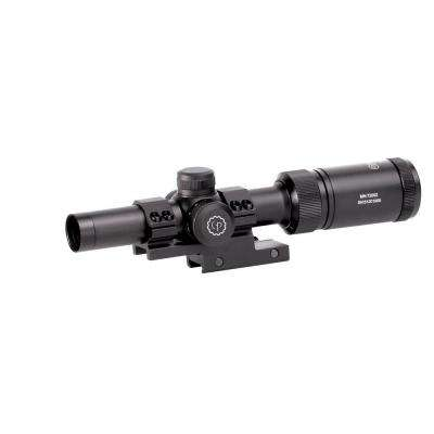 CenterPoint 1-4 in. x 20 mm MSR Rifle Scope with Glass Reticle and Offset Picatinny Mount