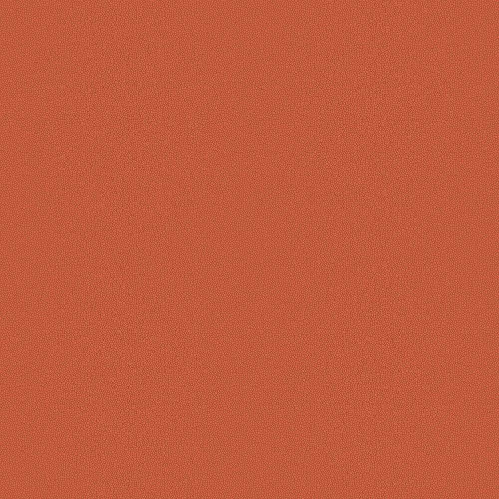 The Wallpaper Company 56 sq. ft. Persimmon Leather Look Wallpaper