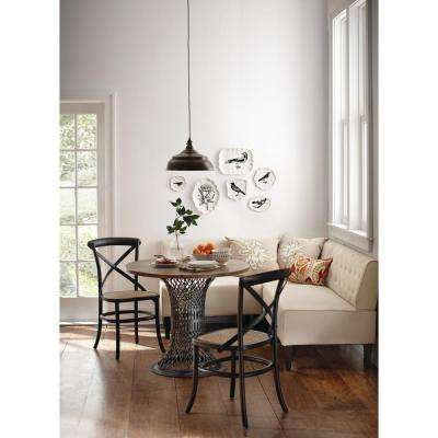 Easton Beige Linen Breakfast Nook