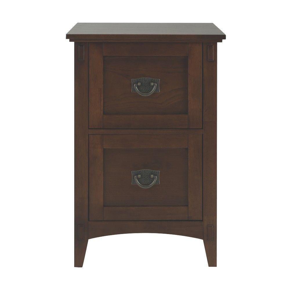 Home Decorators Collection Artisan Dark Oak File Cabinet