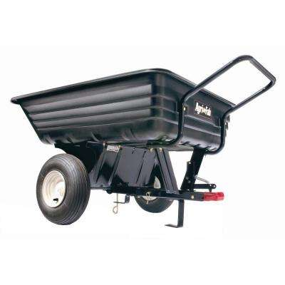 8 cu. ft. 350 lb. Poly Convertible Cart