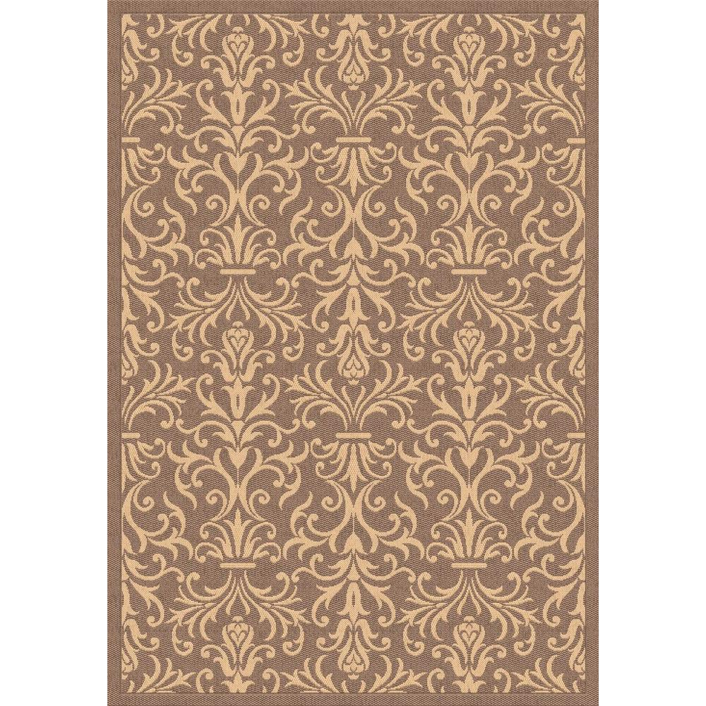Dynamic Rugs Piazza Brown 7 Ft. 10 In. X 10 Ft. 10 In. Indoor/Outdoor Area  Rug PZ91227423009   The Home Depot