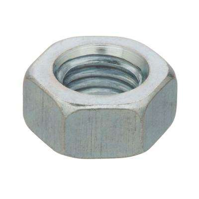 #2-56 tpi Zinc-Plated Machine Screw Hex Nut (12-Pack)