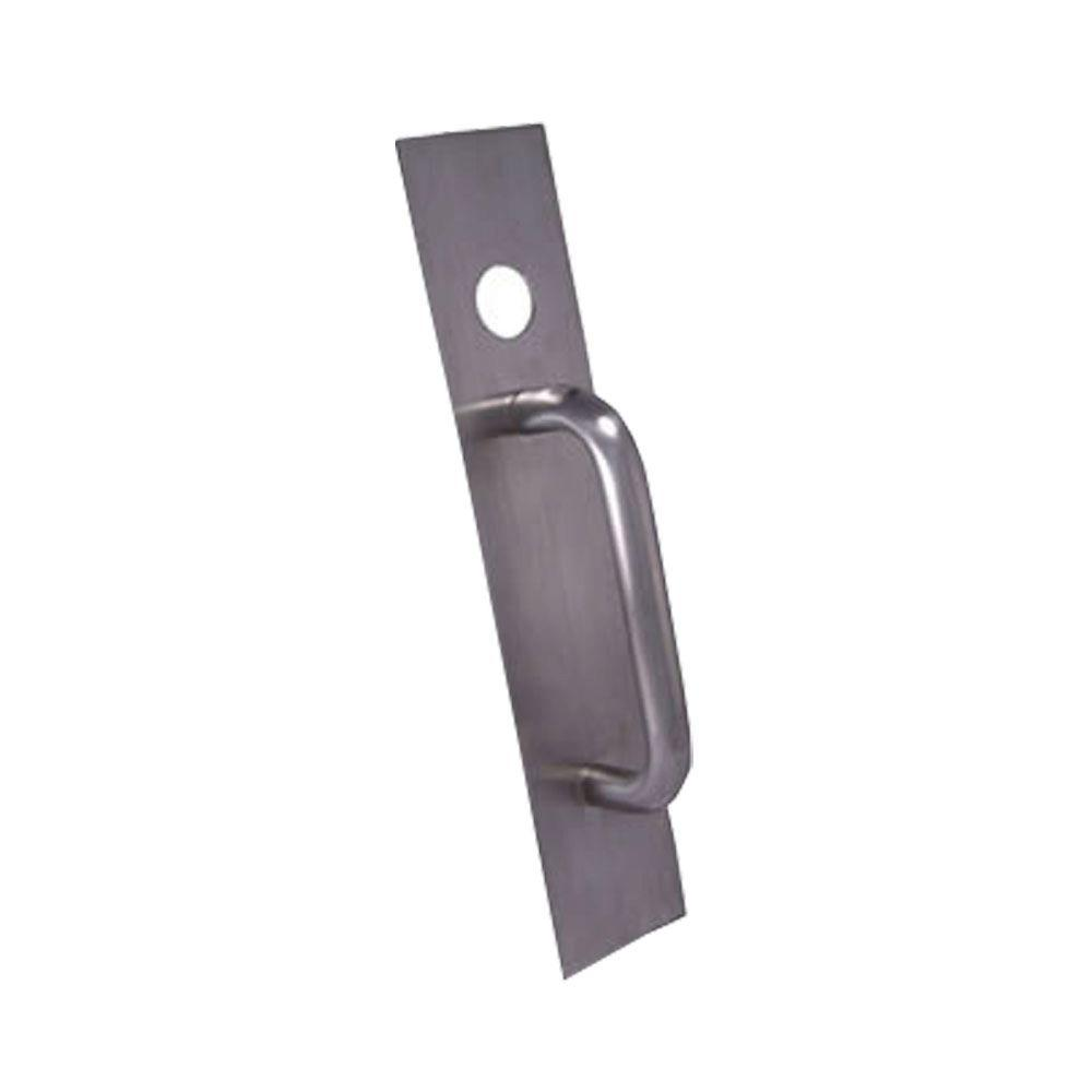 UniversalHardware Universal Hardware Commercial Stainless Steel Pull Plate with Cylinder Hole