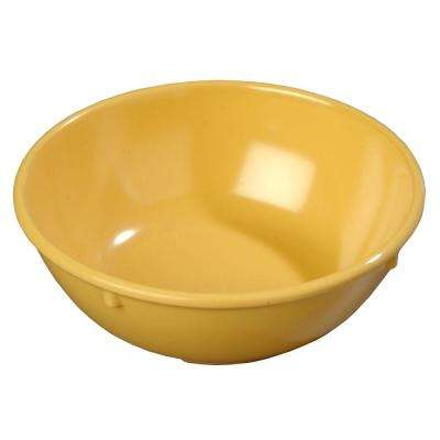 14 oz. Melamine Nappy Bowl in Honey Yellow (Case of 48)